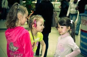 Дети в Ривьере