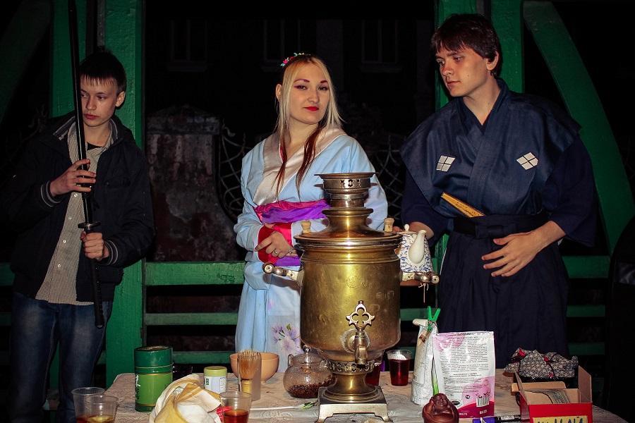 Чаепитие в Музейную ночь. Самовар