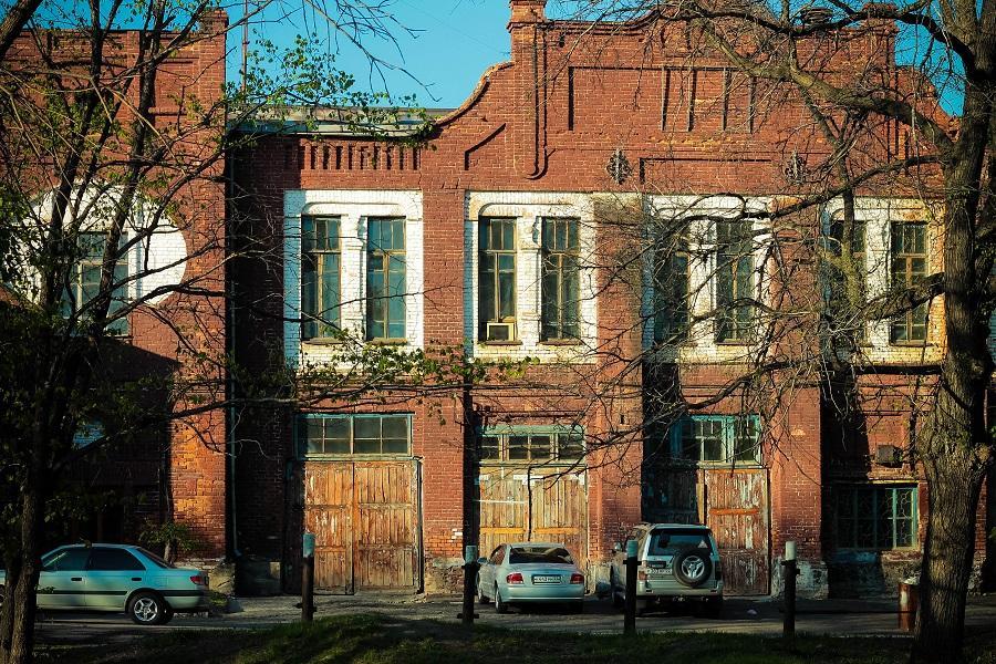 Здание городской управы и пожарного депо, 1910 г.