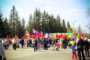Митинг в Бийске