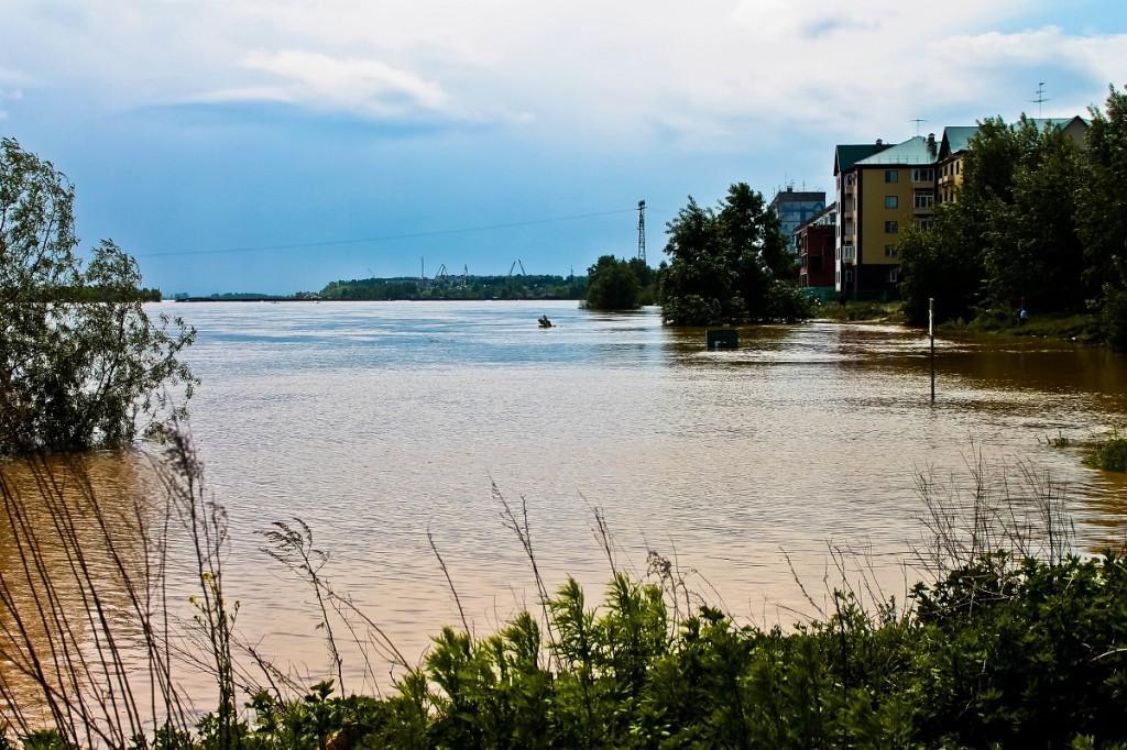 Наводнение в Бийске 1 июня 2014 года