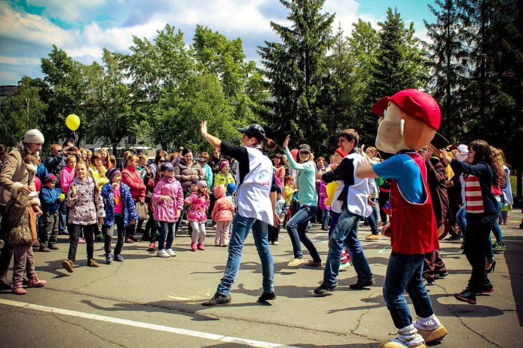 1 июня. День защиты детей на бульваре Петра