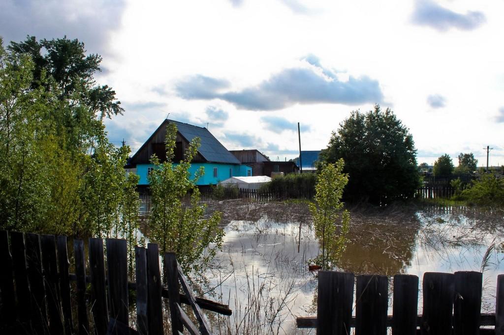 Наводнение на алтае. Сорокино