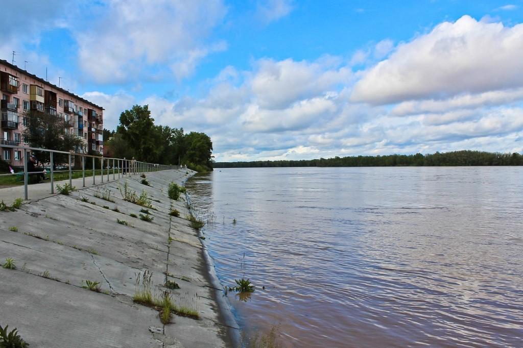 Наводнение на алтае. Пос. Молодежный