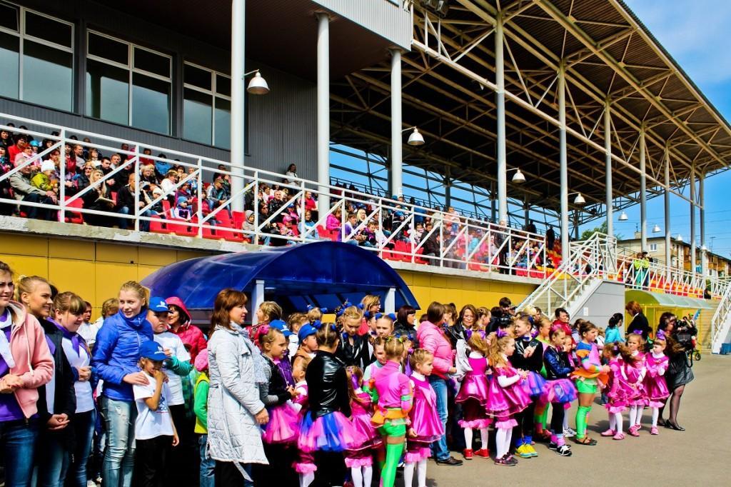 День защиты детей на стадионе Юбилейный