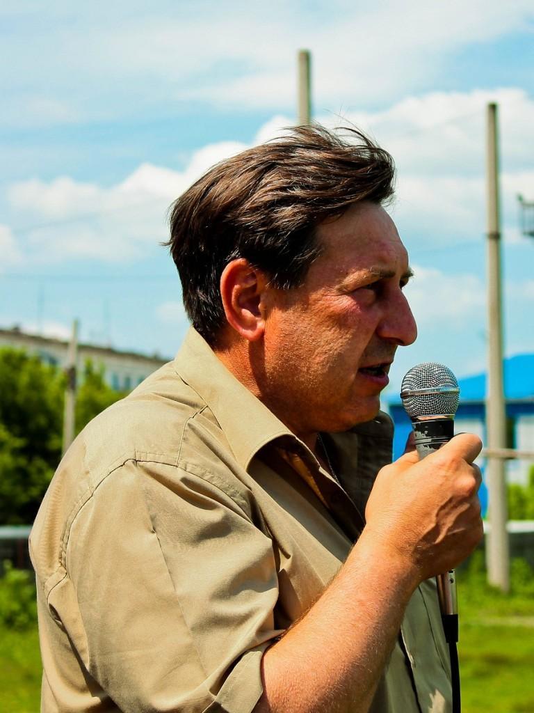 Анатолий Матыцын, руководитель клуба любительского собаководства