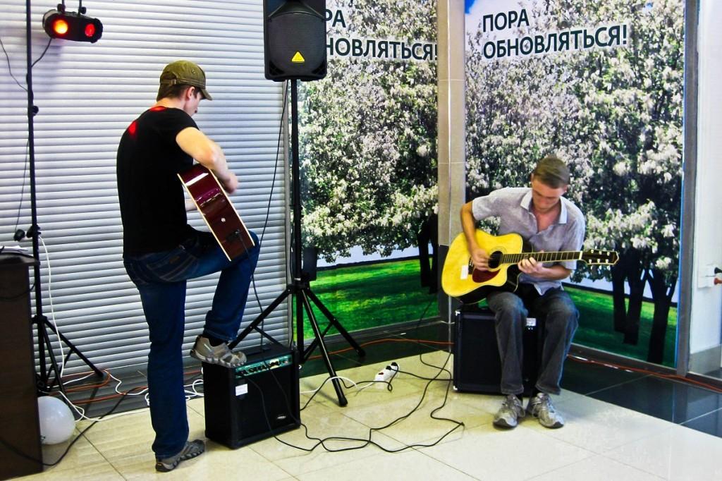 ТЦ Созвездие в Бийске. День молодежи