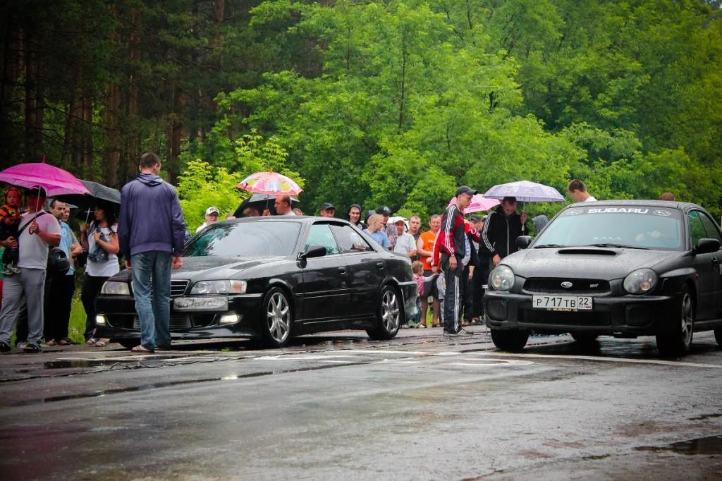 """Автоспорт - Фестиваль скорости """"Июньская жара"""" в Бийске"""