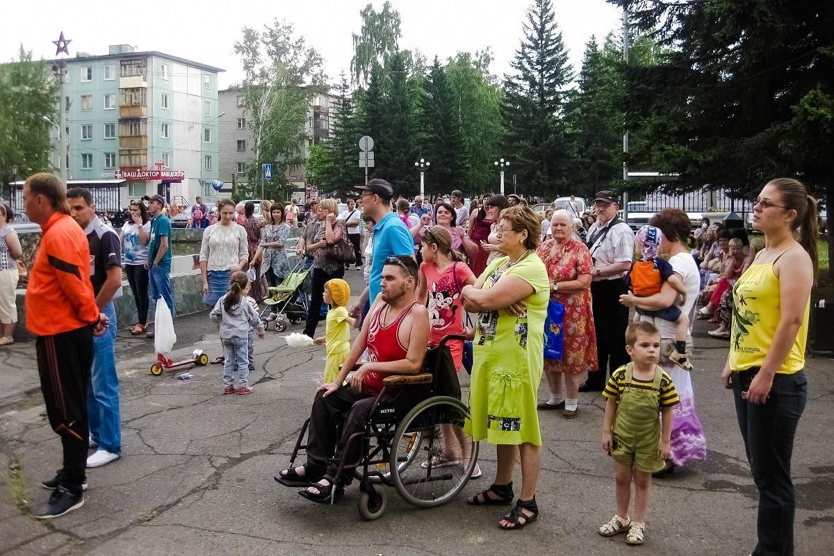День молодежи у ГДК. 29.06.14