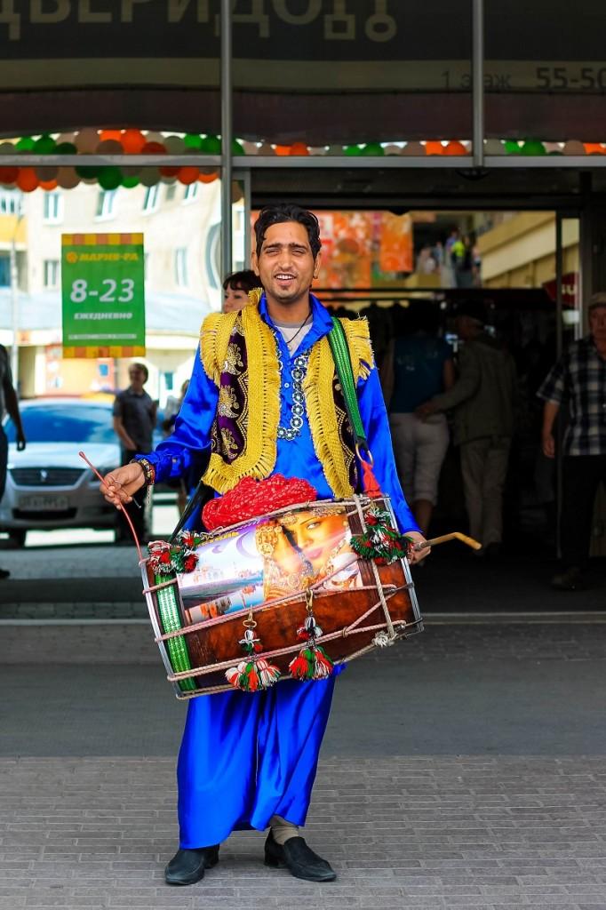 Индийская ярмарка 2013 в Ривьере в Бийске