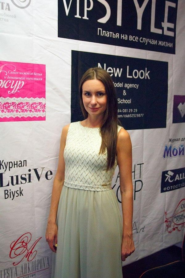 """Ольга Пономарева, модельное агентство """"New look"""" г. Бийск"""