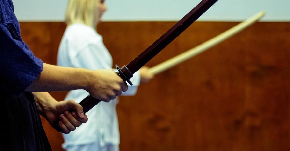 Тренировка по кендзюцу и кюдо. 03.08.14