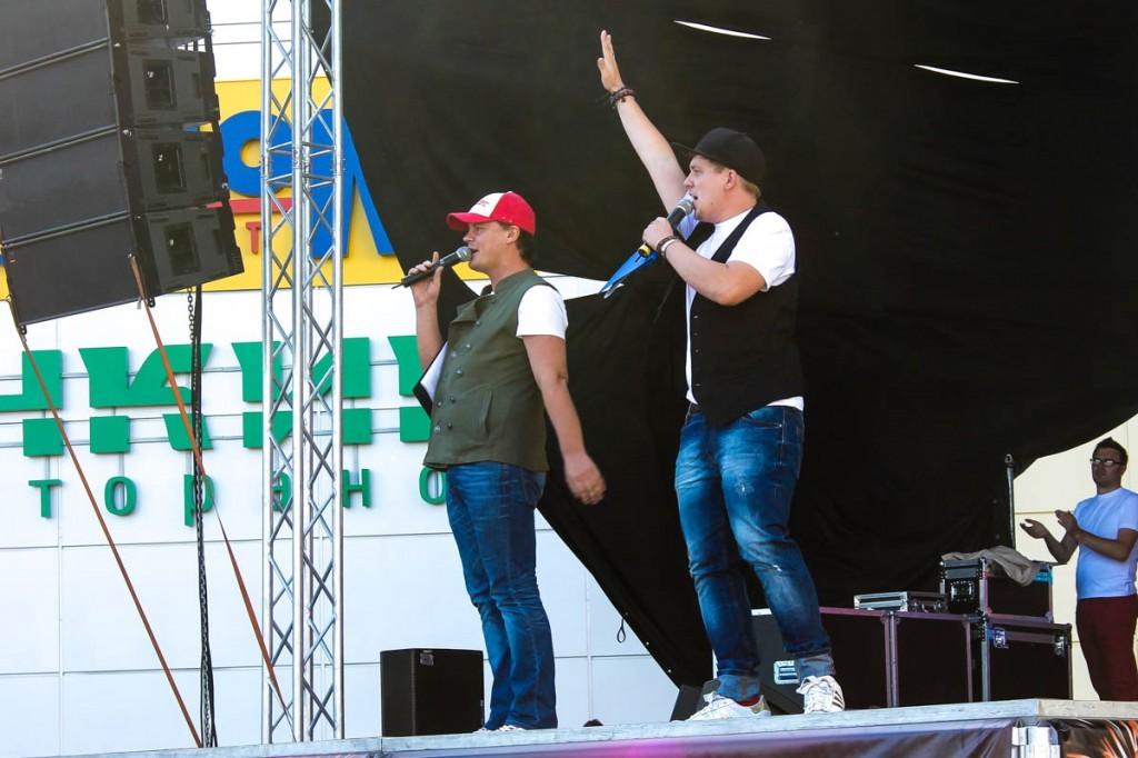 """Праздничное открытие ТРК """"Воскресенье"""" в Бийске"""