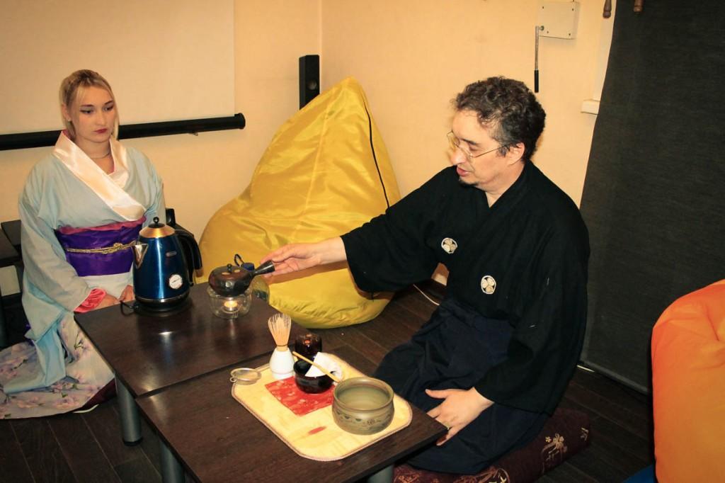"""фото чайной церемонии """"Чай вечной молодости"""" в Бийске в антикафе """"Point"""""""