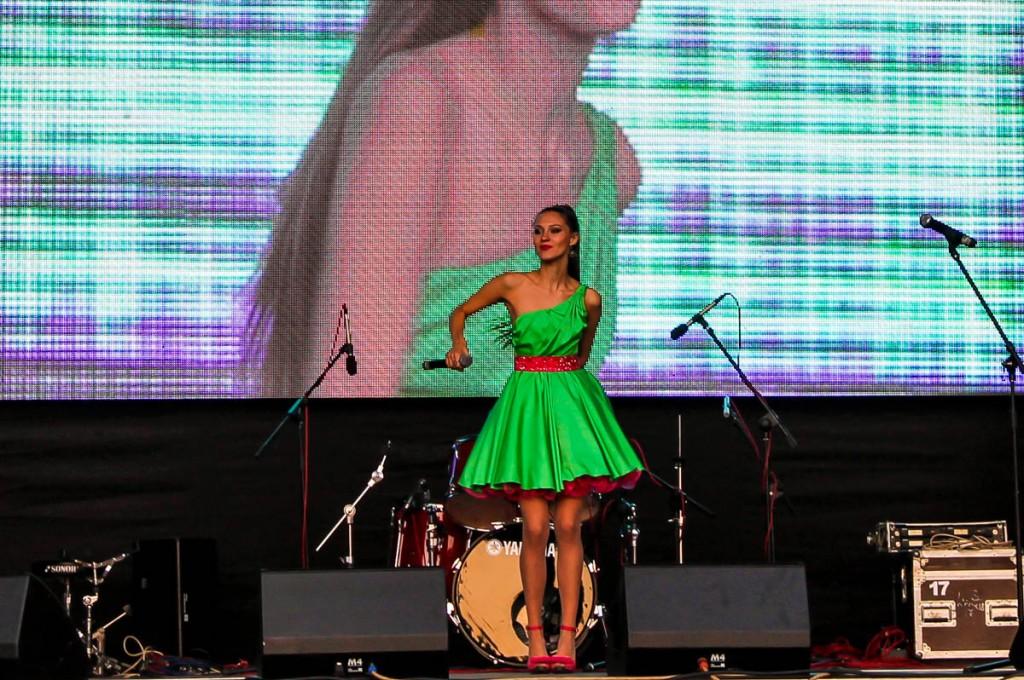 День города 2014 на Зеленом клине. 305 лет Бийску