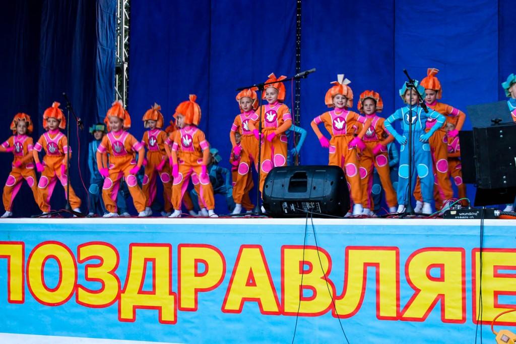 """Концерт на бульваре Петра """"Юбилейное настроение"""" в честь 305-летия Бийска"""