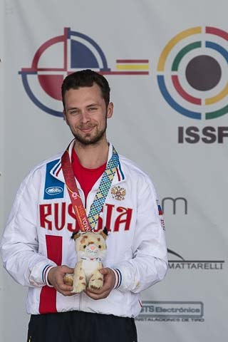 Бийский стрелок Сергей Каменский