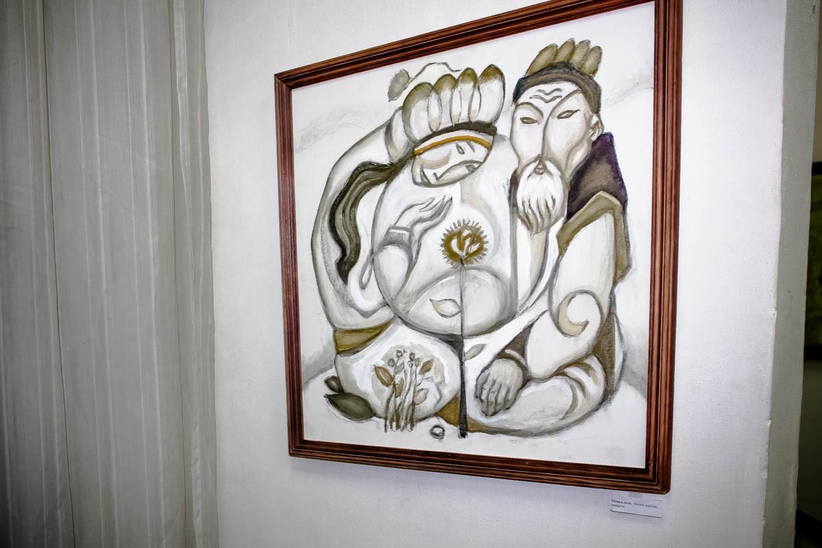Выставка картин Ю.Е. Бралгина. 17.08.14
