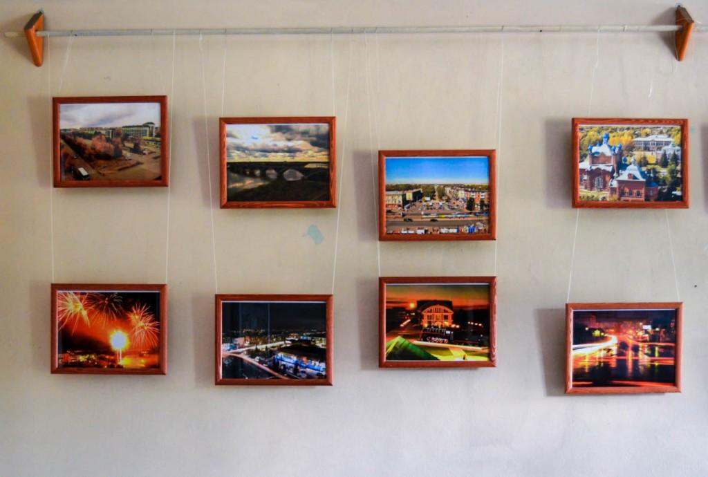 Выставка Вячеслава Корчуганова к 305-летию Бийска
