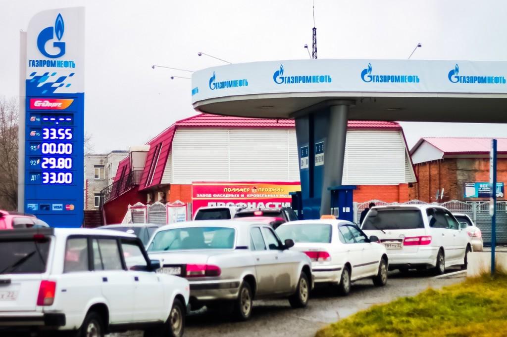 АЗС «Газпромнефть» в Бийске