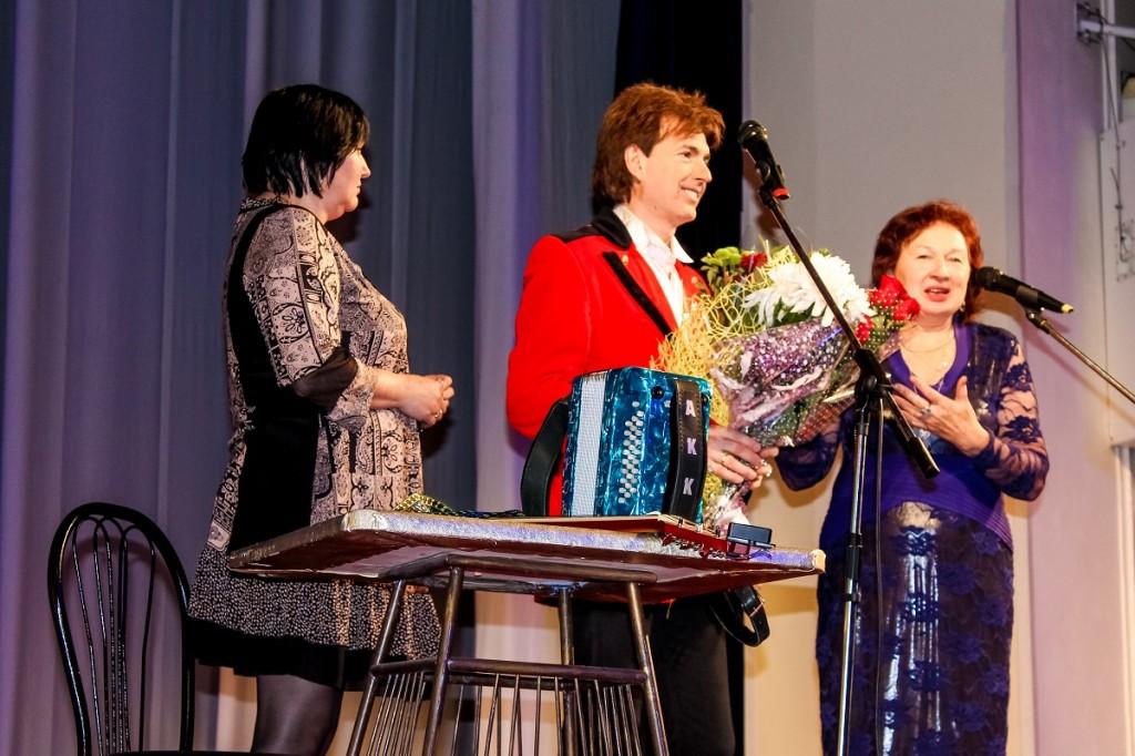 Выступление Геннадия Ветрова в Бийске