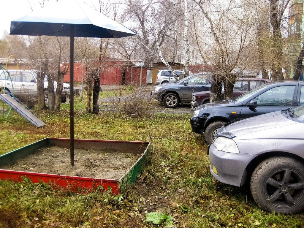 Ремонт придомовой территории по ул. Ленина, 246 в Бийске