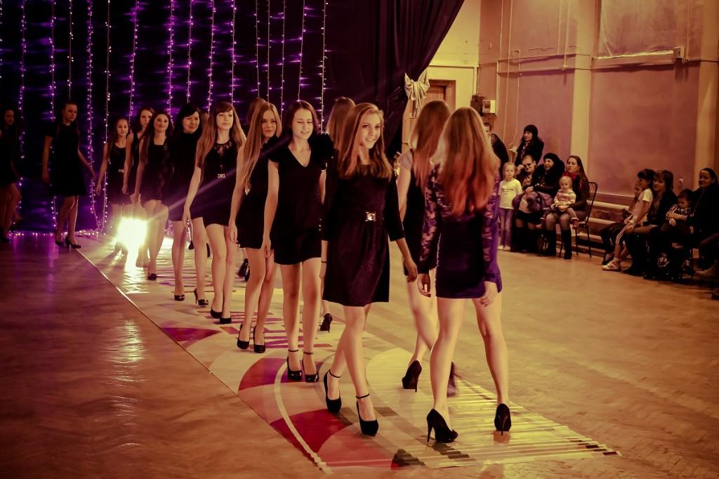 Открытый урок модельного агентства «New look» в Бийске