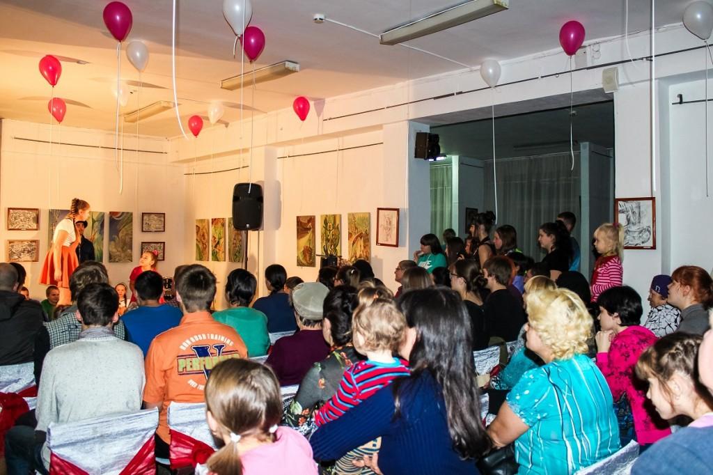 Ночь искусств - всероссийская акция прошла в Бийске