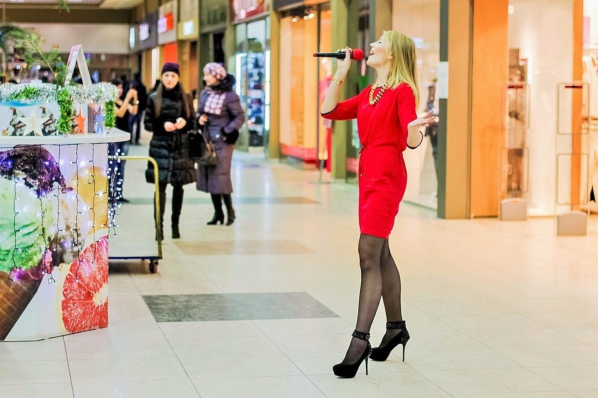 Модный флешмоб в ТРЦ «Ривьера». 25.12.2014