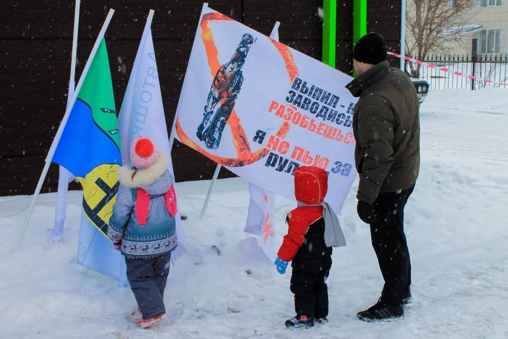 """Социальный проект """"Мы за трезвое вождение"""" в Бийске"""