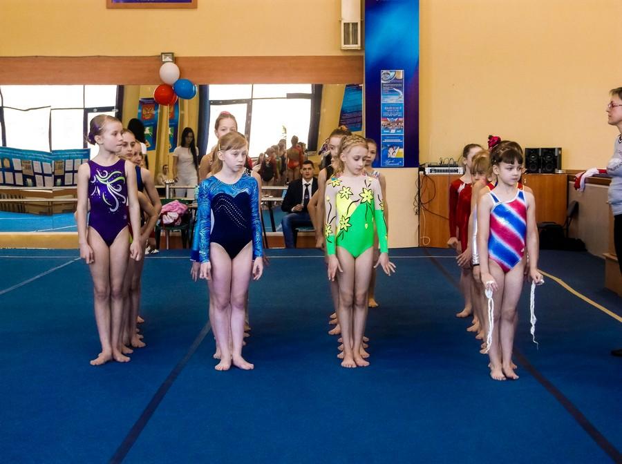 В Бийске прошел турнир по спортивной гимнастике