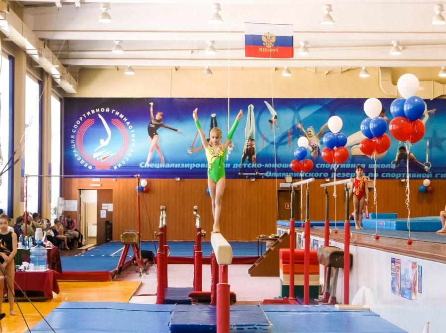 Гимнастка в Бийске