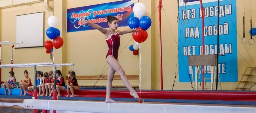 Звездочки гимнастики встретились в «Заре»