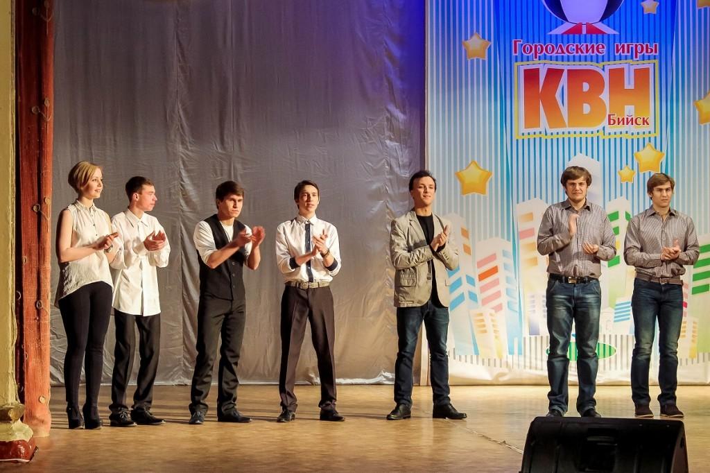 Фото третьего полуфинала КВН в Бийске
