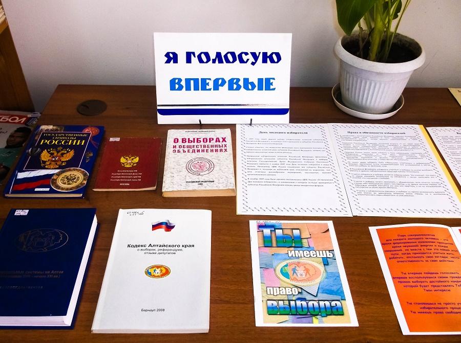 Выставка «Я голосую впервые»