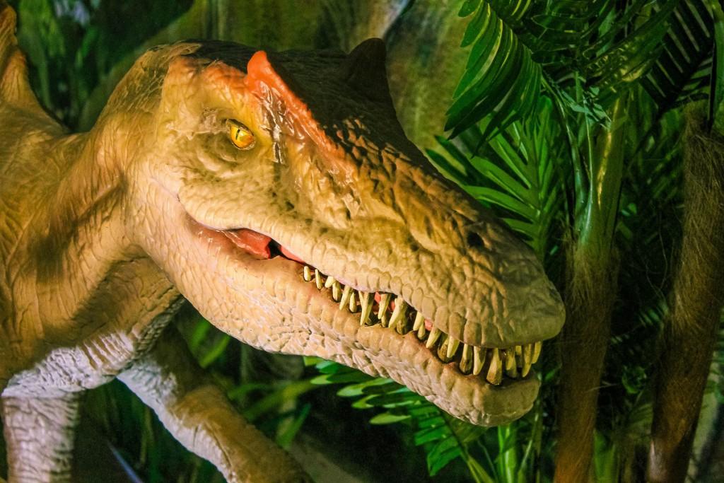 """Динозавр на шоу-выставке """"Движущиеся динозавры"""""""
