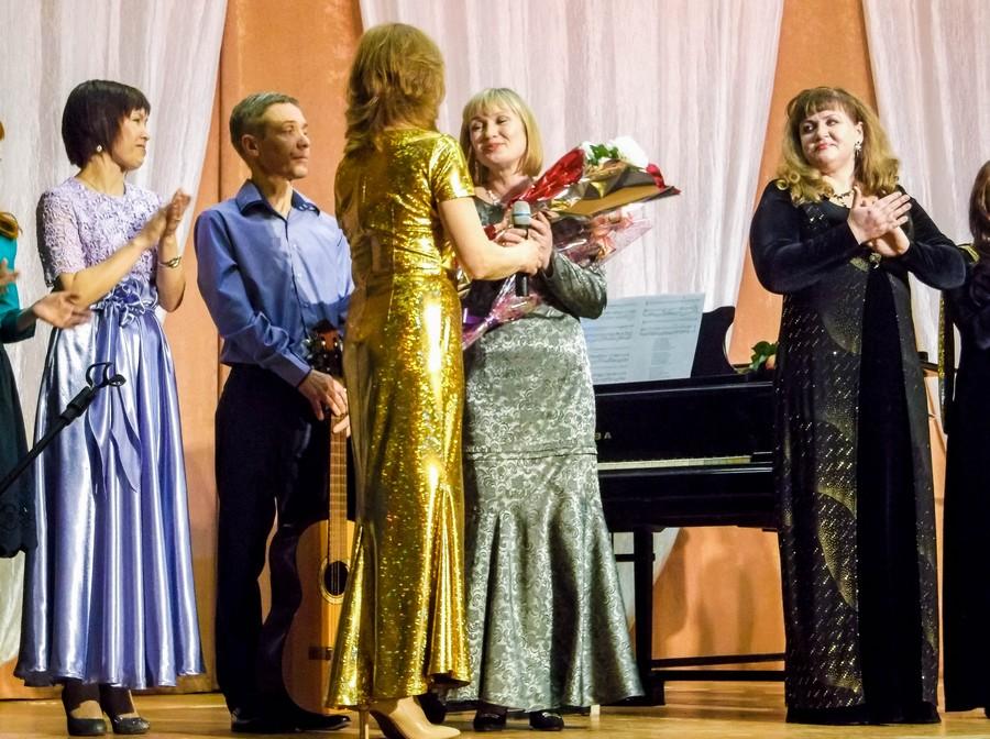 Творческий вечер Ирины Казанцевой. Поздравление