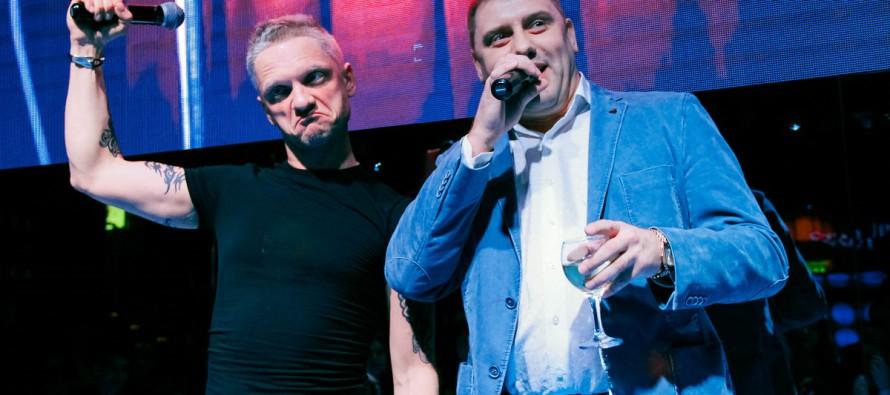 Александр Шаляпин выступил в «The Х-club»