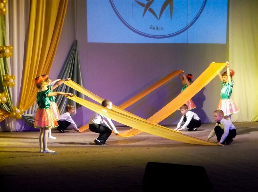 Танцевальный коллектив в Бийске