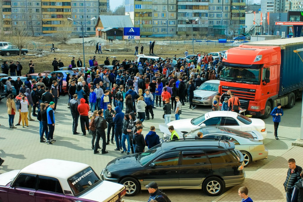 Выставка тюнингованных автомобилей «Форсаж на Алтае» в Бийске