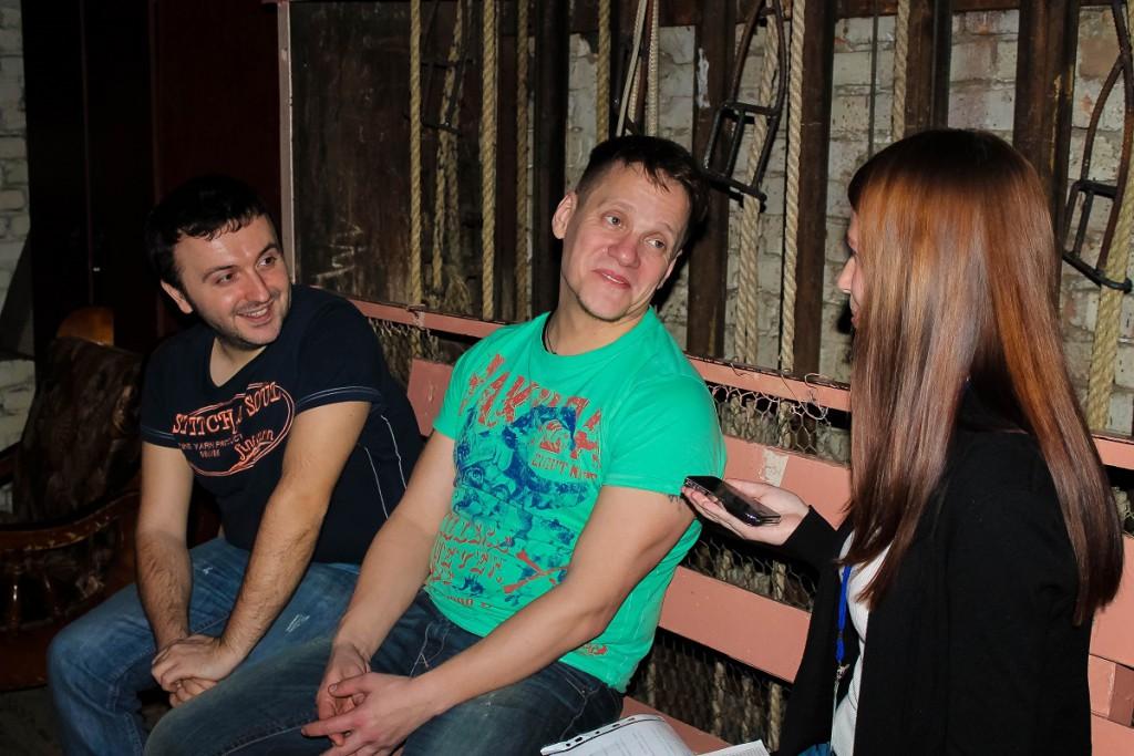 Интервью со Степаном Мезенцевым и Петром Малановым