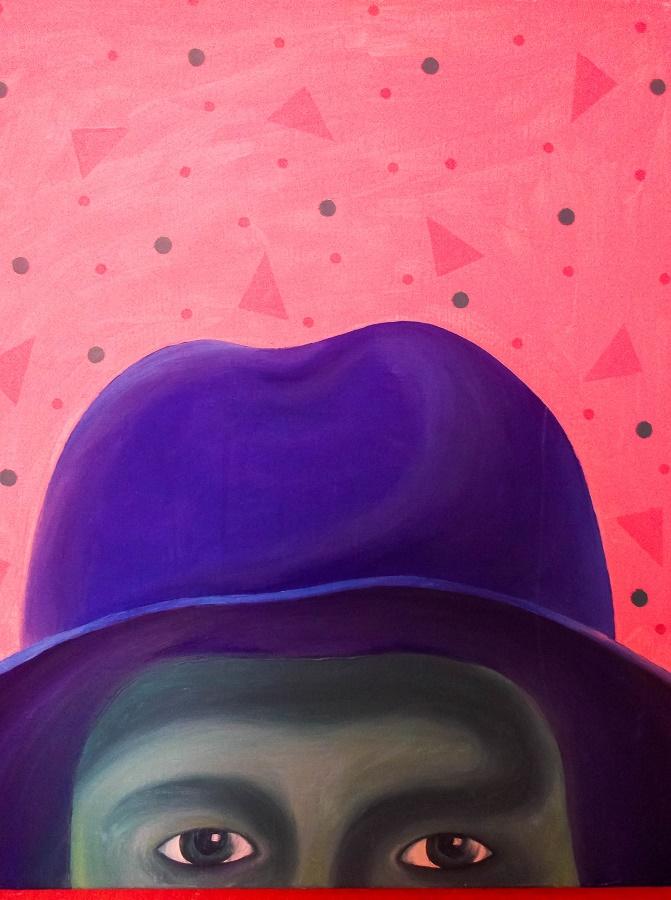 Картина. Шляпа