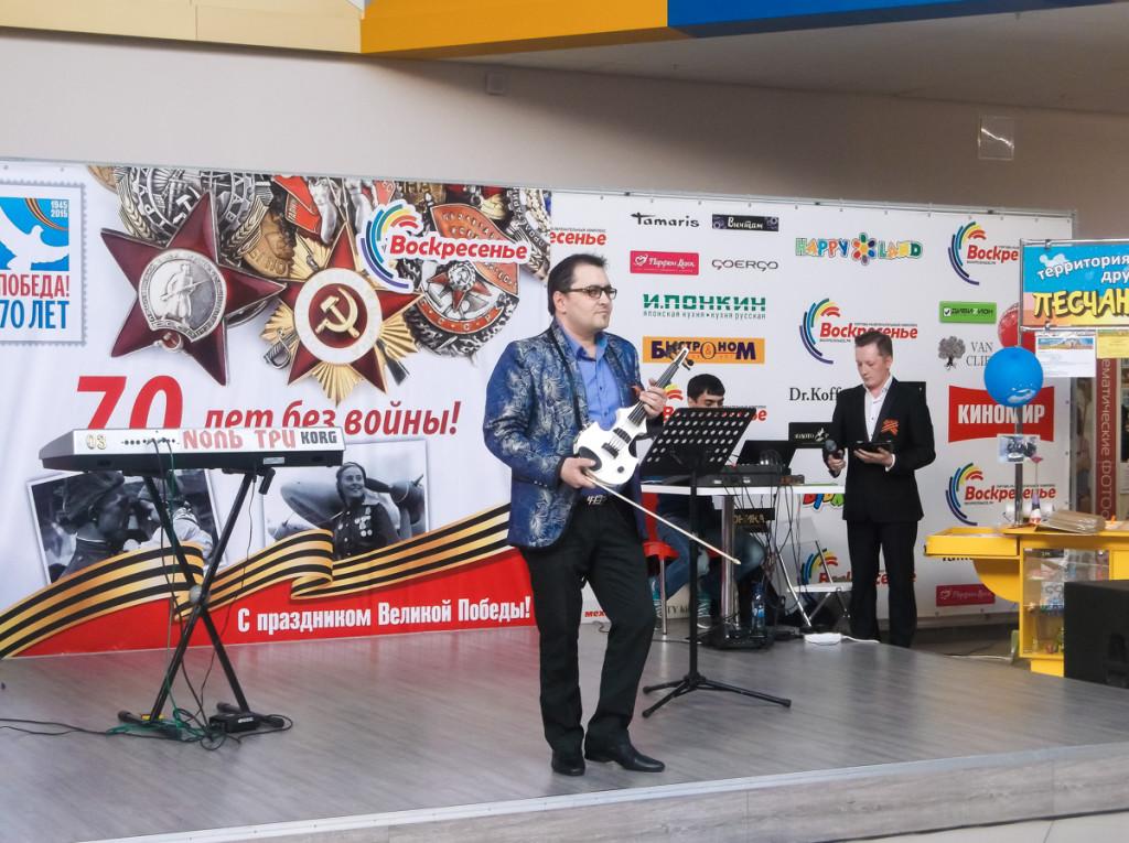 """В ТРК """"Воскресенье"""" состоялся концерт, посвященный 9 Мая"""