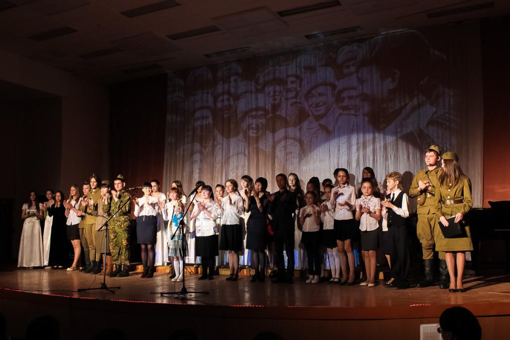 """Концерт """"Письма с фронта"""" в Бийском музыкальном колледже"""