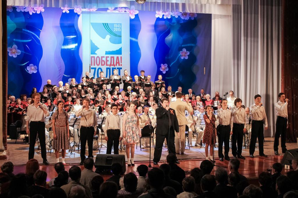 В Бийске выступил Президентский оркестр