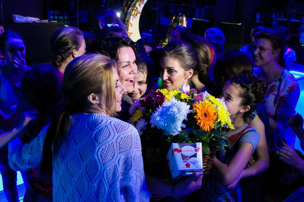 Показ от модельной школы Ольги Шигиной в Бийске