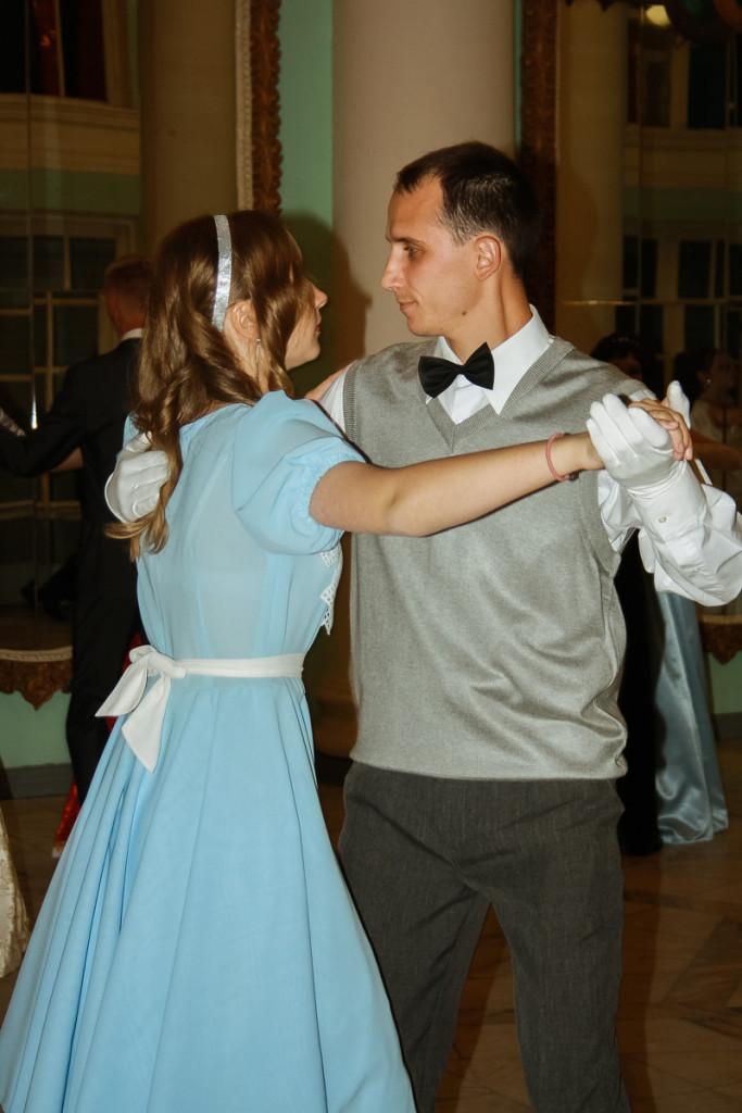 весенний танцевальный вечер