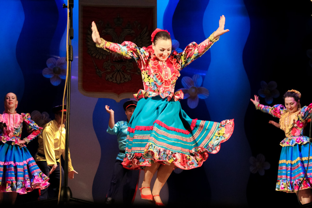Празднование Дня России в Бийске