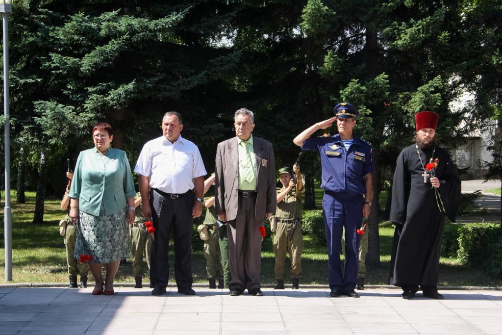 В Бийске прошел День памяти и скорби