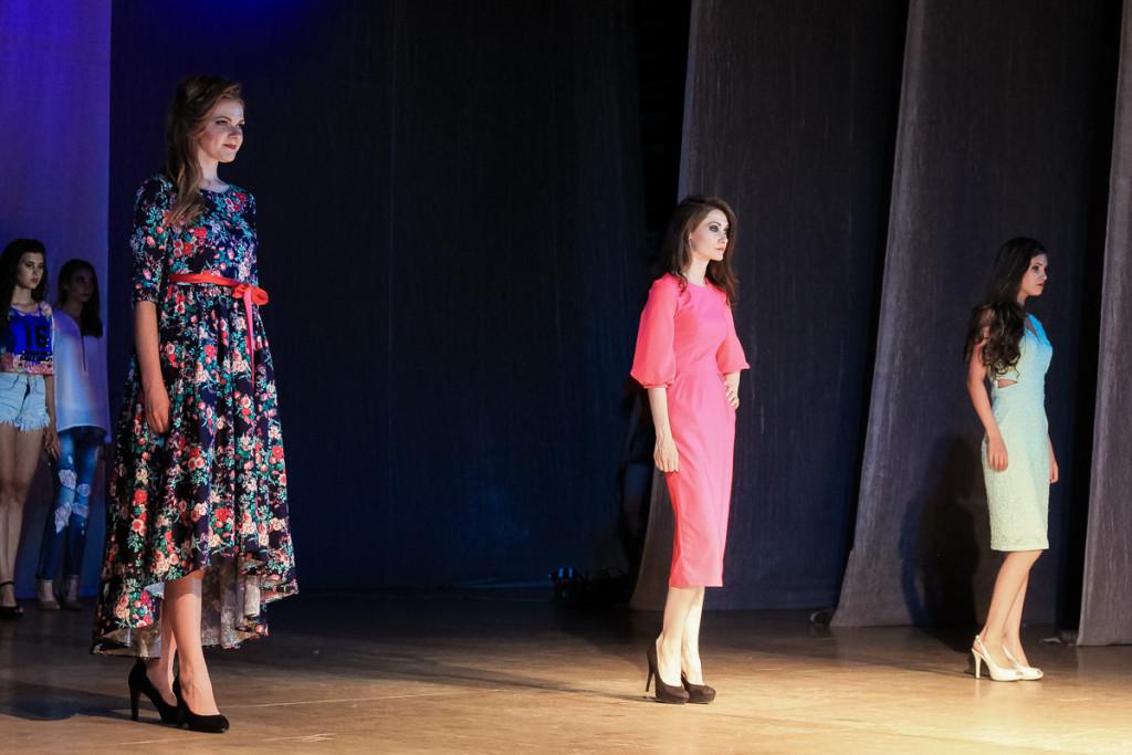 В Бийске прошел Первый фестиваль моды